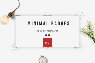 Minimal Badges | vol.1