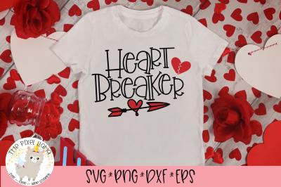Heart Breaker SVG Cut File
