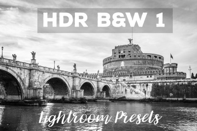HDR BW 1 Lightroom Presets