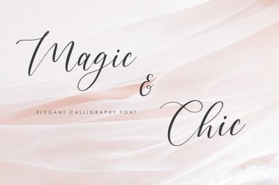 Magic & Chic - Script Font