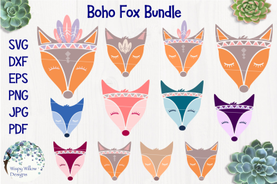 Boho Fox Bundle