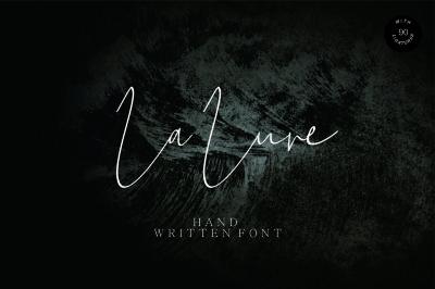 La Lune Hand Written Font