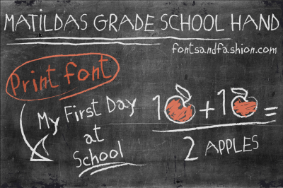 Matildas Grade School Hand_Print