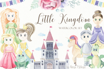 Little Kingdom - Watercolor Set