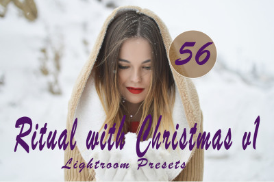 56 Ritual with Christmasv.1 Lr Presets(80% Discount for Christmas)