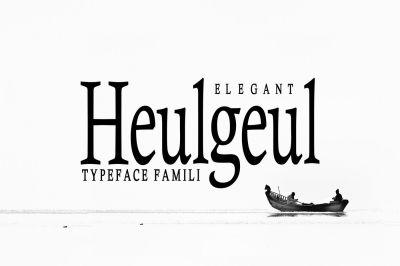 Helgeul Typeface Family