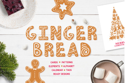 Gingerbread Christmas collection