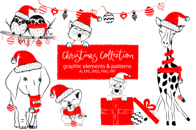 Christmas Collection - cute animals
