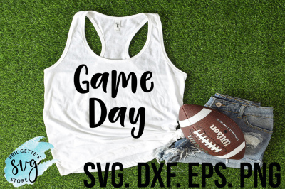 Game Day SVG DXF EPS PNG