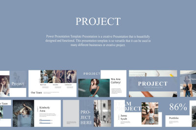 Project Creative Powerpoint