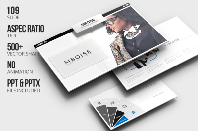 Mboise PowerPoint Template
