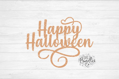 Happy Halloween SVG-DXF-PNG