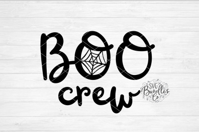 Boo Crew SVG-DXF-PNG