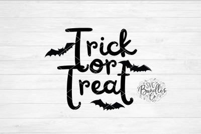 Trick Or Treat SVG-DXF-PNG