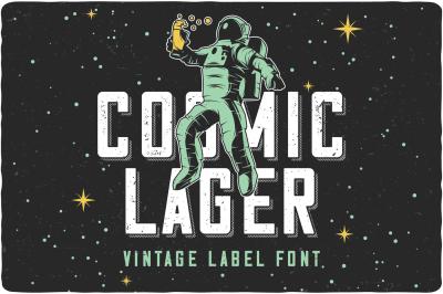 Cosmic Lager (+Bonus)