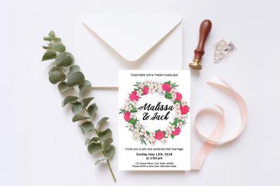 Wedding Invitation Template-v06