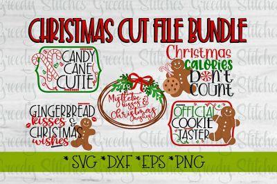 Christmas SVG Bundle| Christmas SVG DXF EPS PNG