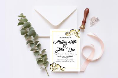 Wedding Invitation Template-v07