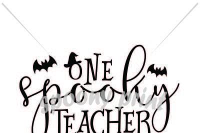 one spooky teacher