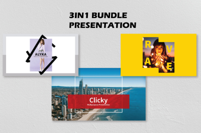 3in1 Bundle Keynote Template