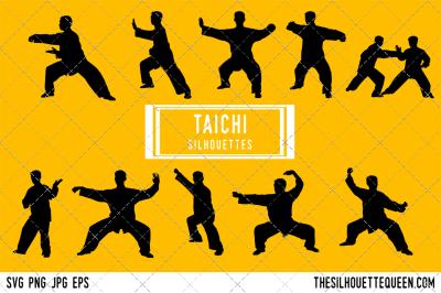 Taichi  Silhouette Vector