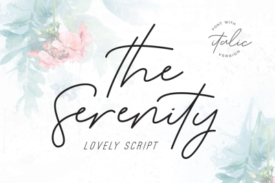 The Serenity - Lovely Script