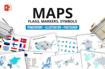 Maps infographic