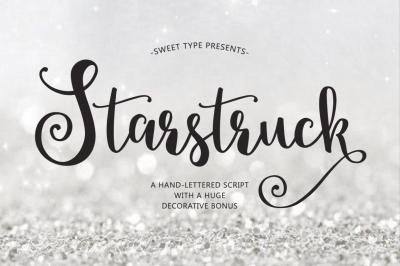 Starstruck Hand-Lettered Script