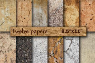 Stone Digital Paper 8.5 x 11