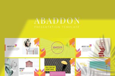 Abaddon Keynote Template