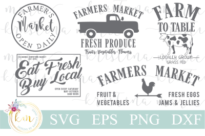 Farmers Market SVG Bundle