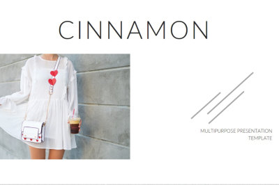 Cinnamon Keynote Template