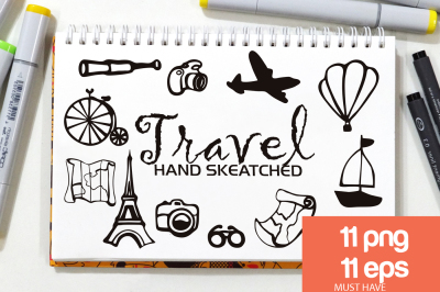 Travel ClipArt - Vector & PNG