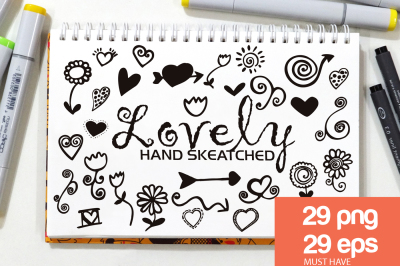 Lovely ClipArt - Vector & PNG