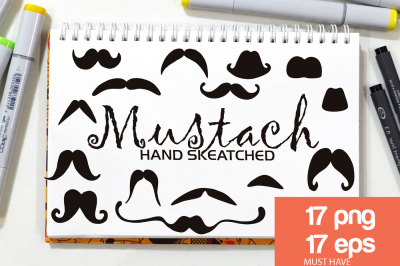 Mustach ClipArt - Vector & PNG