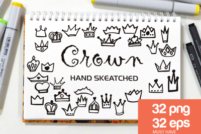 Crown ClipArt - Vector & PNG