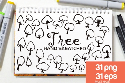 Tree ClipArt - Vector & PNG