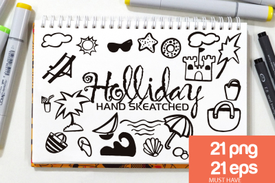 Holliday ClipArt - Vector & PNG
