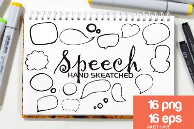 Speech Bubbles ClipArt - Vector & PNG