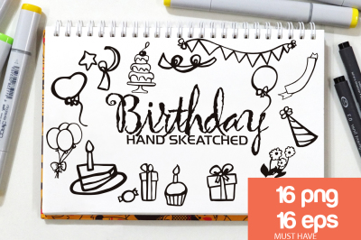 Birthday ClipArt - Vector & PNG