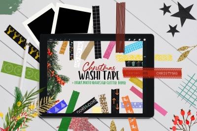 Christmas Washi Tape Stamp Pack