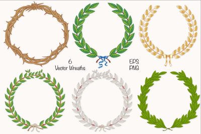 Wreath & Laurel Collection