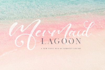 Mermaid Lagoon - SVG Font Duo