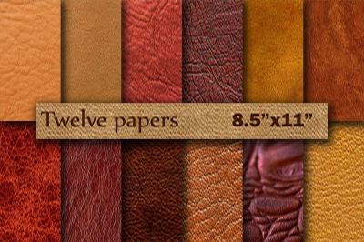 Leather Digital Paper 8.5