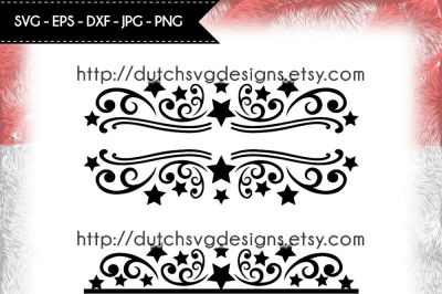 2 Split monogram cutting files, christmas svg, monogram svg, name svg