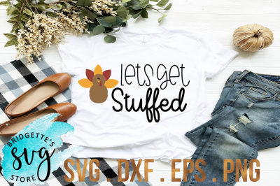 Lets Get Stuffed SVG, DXF, PNG, EPS Cut File
