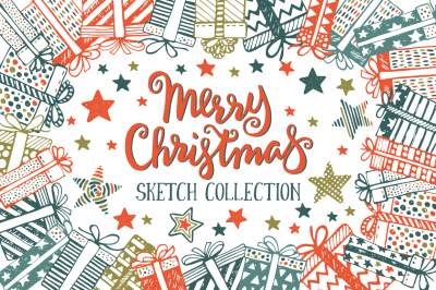 Christmas sketch collection