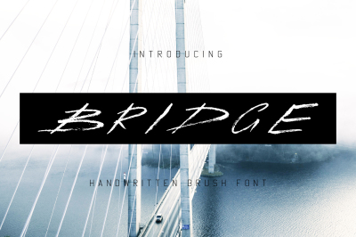 Bridge Handwritten Brush Font