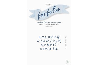 Farfelue Playful Brush Font