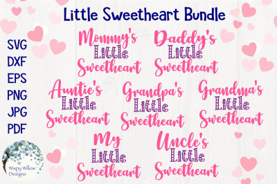 Little Sweetheart Bundle | Valentine's Day SVG Bundle